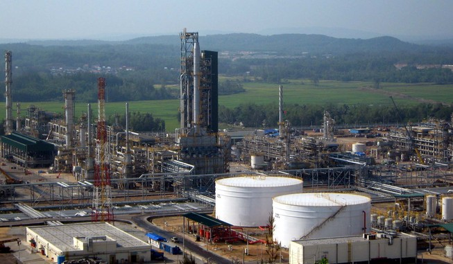 Nhà máy lọc dầu Dung Quất có thể ngừng sản xuất
