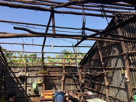 Vụ lửa bốc cháy khắp nhà: Khi công an canh chừng thì không thấy cháy