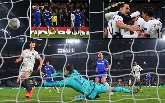 Ibrahimovic 'lên đồng', Chelsea 'ôm hận'