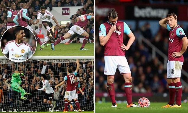 Rashford lập 'siêu phẩm', Man Utd vào bán kết FA Cup