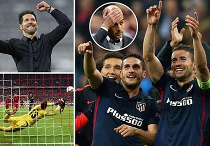 Bayern bị Atletico loại tức tưởi trong trận cầu siêu kịch tính