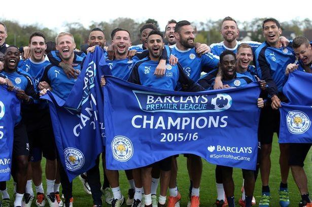 Cầu thủ nào của Leicester City nhận huy chương vô địch Premier League