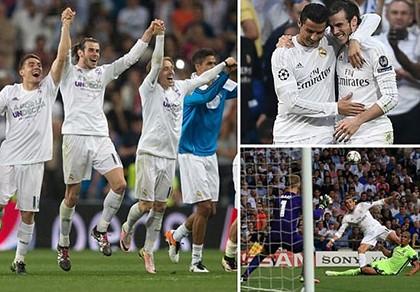 Real hội ngộ Atletico tại chung kết nhờ bàn phản lưới nhà