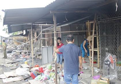 Vượt 40 km chữa cháy chợ Điền Hải