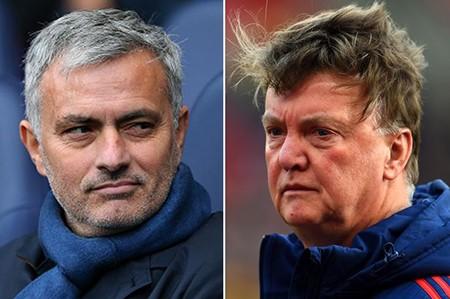 Truyền thông đăng tin M.U sa thải Van Gaal, bổ nhiệm Mourinho
