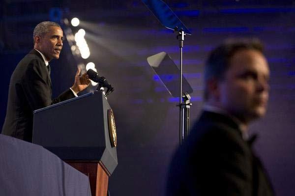 'Bảo bối' giúp ông Obama phát biểu trơn tru