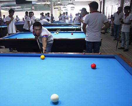 Gần 100 nhà báo tranh tài giải Billiards báo chí ĐBSCL