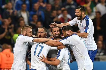 Ý 2-0 Bỉ: Bản lĩnh thiên thanh!