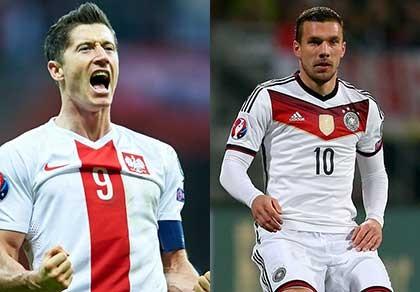 Ba Lan, Lewandowski và thời cơ hạ gục đội tuyển Đức