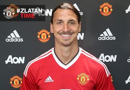Zlatan Ibrahimovic chính thức gia nhập Manchester United