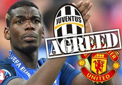 Nóng: Juventus đồng ý bán Pogba cho MU, giá kỷ lục thế giới
