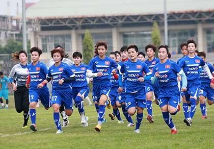 Đội tuyển nữ khát khao cúp vàng AFF