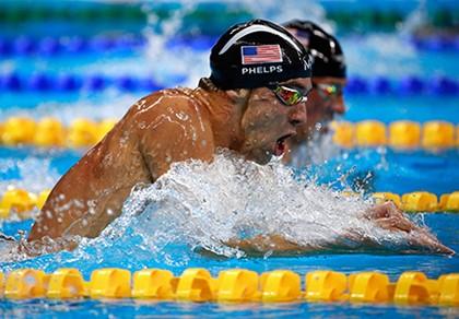 Siêu kình ngư Michael Phelps giành HCV thứ 22