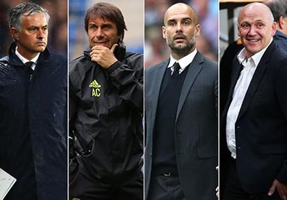 Mourinho, Guardiola, Conte 'đại chiến' cho danh hiệu xuất sắc nhất tháng
