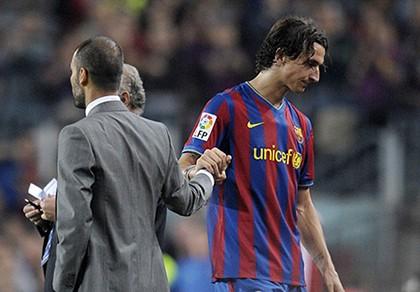 Ibrahimovic và Guardiola nói gì về nhau trước derby Manchester?