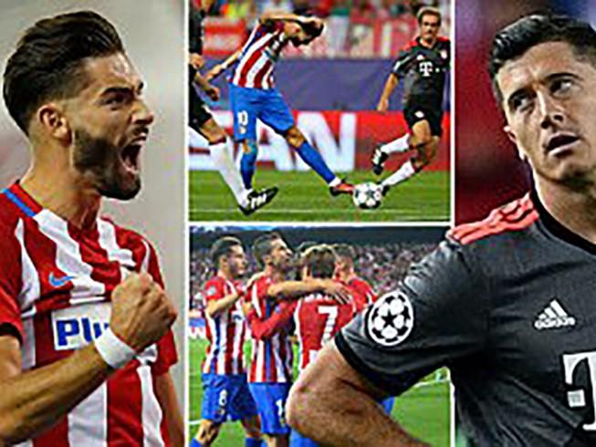 Bayern 'phơi áo' trước Atletico, Arsenal thắng dễ