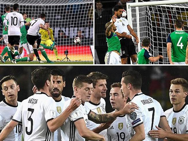 Đức thắng thần tốc, Anh nhọc nhằn kiếm 1 điểm