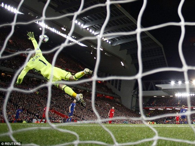 De Gea 'lên đồng', Man United cầm hòa Liverpool