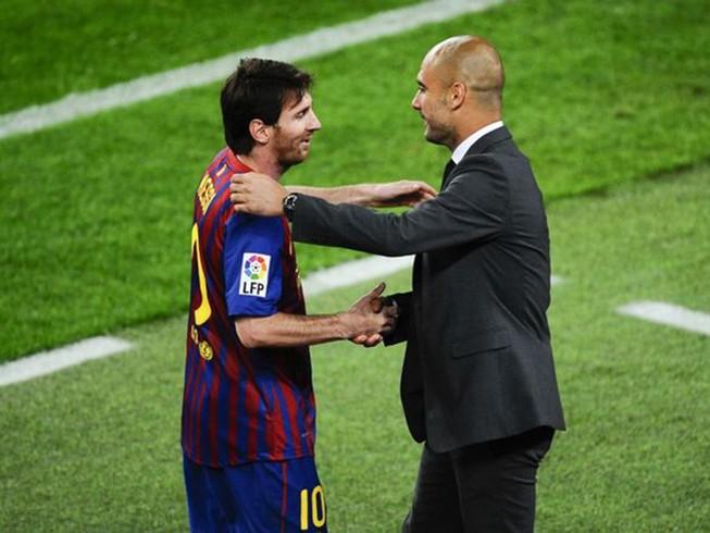 Pep Guardiola chơi đòn tâm lý chiến với Messi