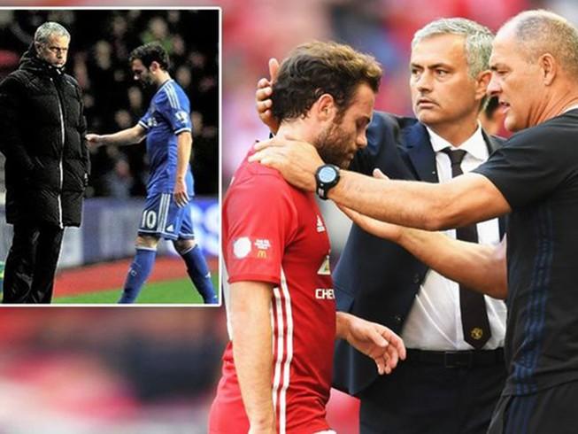 Gia đình lo sợ Mata bị Mourinho tống khứ khỏi MU