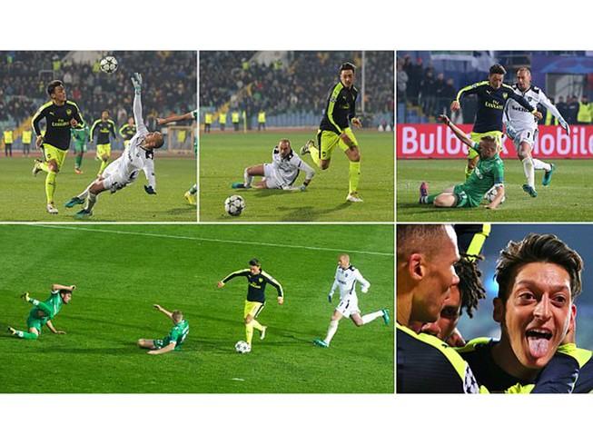 Xem lại bàn thắng 'ma thuật' của Ozil