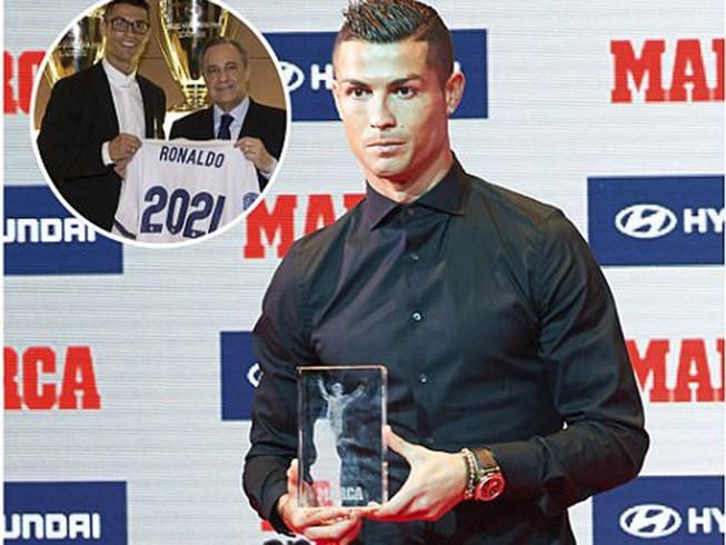 Ronaldo liên tiếp nhận tin vui