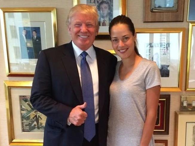 Trump khen vợ sao MU là phụ nữ đẹp nhất mà ông từng gặp