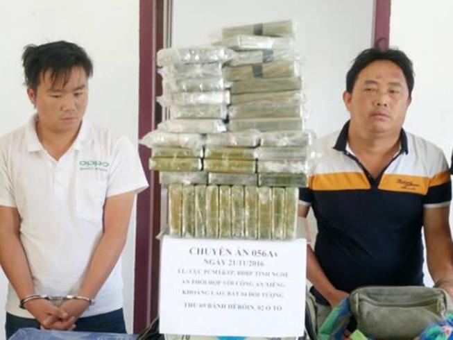 Chặt đứt đường dây mang lượng ma túy lớn vào Việt Nam