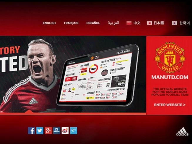 Website MU được truy cập 'khủng' nhất thế giới bóng đá
