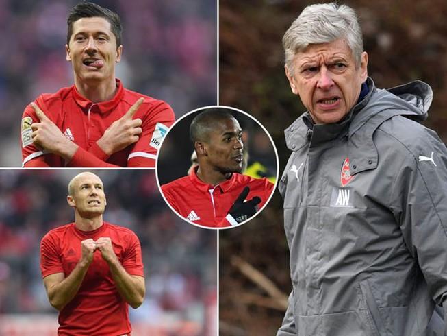 Arsenal rùng mình vì những con số trước trận gặp Bayern