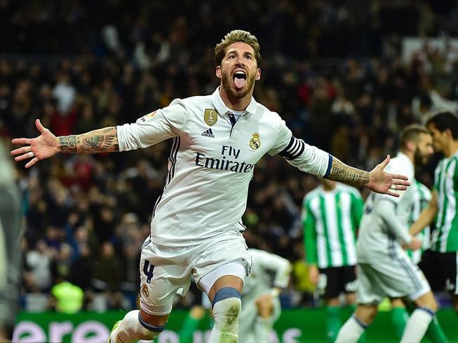 Ramos lại hóa người hùng, Real ngược dòng kinh điển