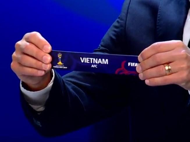 Bốc thăm VCK World Cup U-20: Việt Nam quá may mắn!