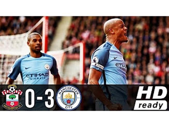 Southampton 0-3 Man City: Hiệp 1 bế tắc, bùng nổ hiệp 2