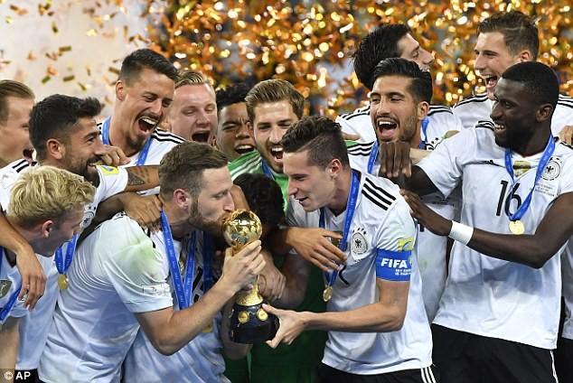 Đức thắng Chile, vô địch Confederations Cup 2017 bằng đội hình 2