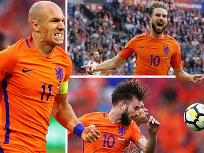 Hà Lan thắp sáng hy vọng, Pháp mất điểm sốc