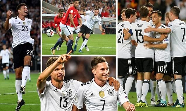 Thắng liền 8 trận, Đức vẫn chưa có vé dự World cup 2018