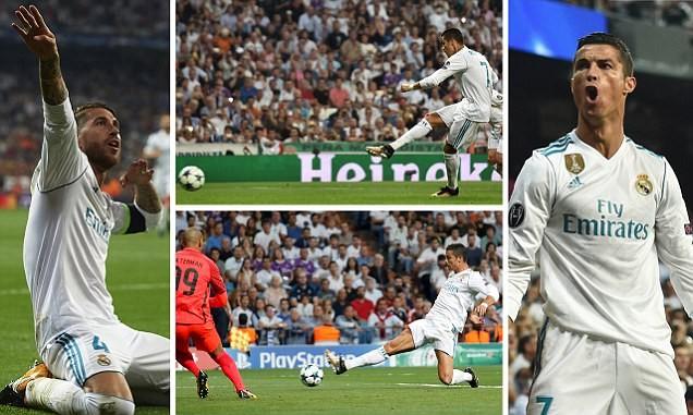 Real, Tottenham, Man City thắng lớn, Liverpool lạc nhịp