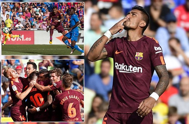 Barcelona thắng nhọc nhờ tân binh đến từ Trung Quốc