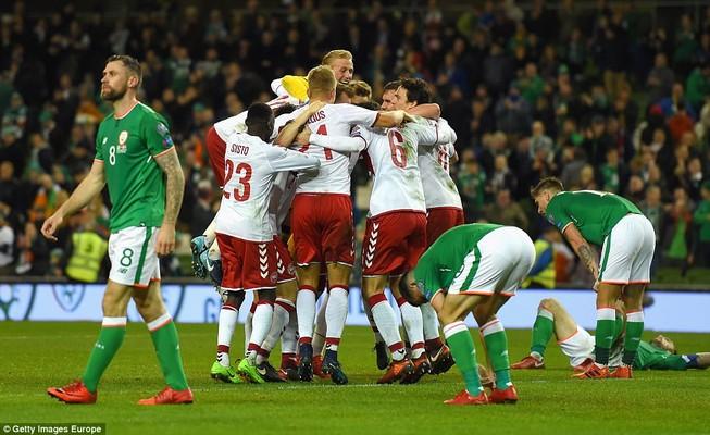 Sao Tottenham rực sáng đưa Đan Mạch bay vào World Cup