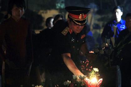 Thắp nến tri ân tưởng nhớ các anh hùng liệt sĩ nhân kỷ niệm 27-7