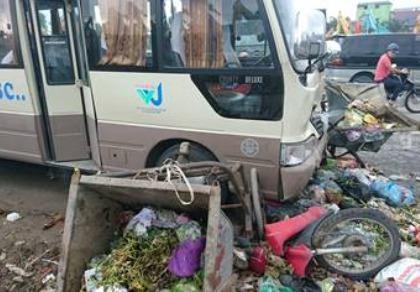 Tai nạn liên hoàn, 3 người bị thương