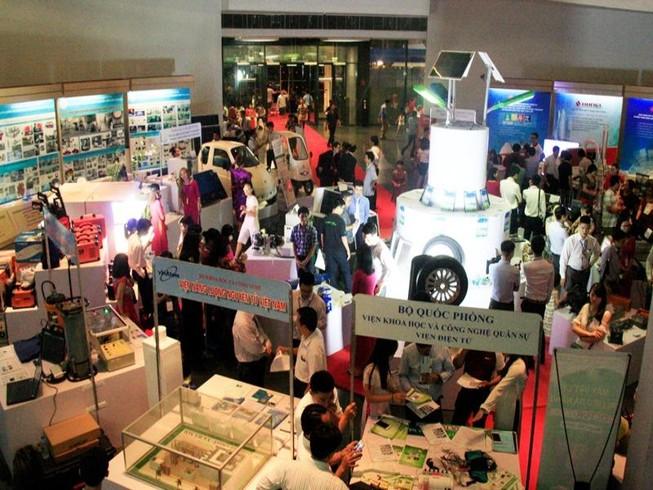 Khai mạc Chợ công nghệ và thiết bị Hà Nội 2016