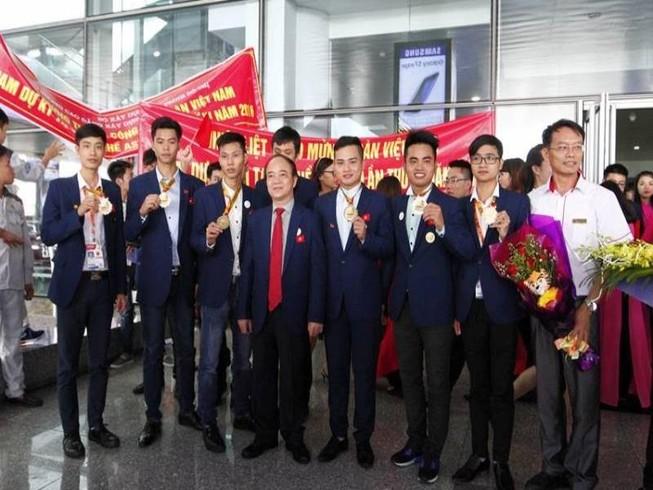 Việt Nam đứng thứ 3 tại kỳ thi tay nghề ASEAN