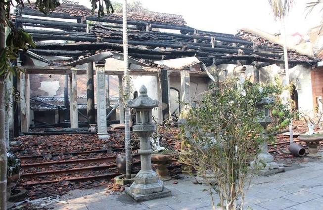 Hé lộ nguyên nhân vụ cháy trong chùa Tĩnh Lâu