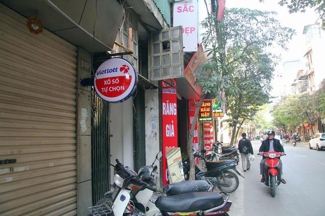 Chưa chính thức, xổ số Vietlott đã được bán ở Hà Nội