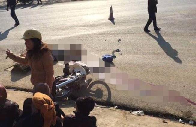 Thương tâm: 2 bà cháu tử vong trên đường đến trường