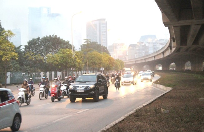 Hà Nội không tắc đường sau kỳ nghỉ tết Dương lịch