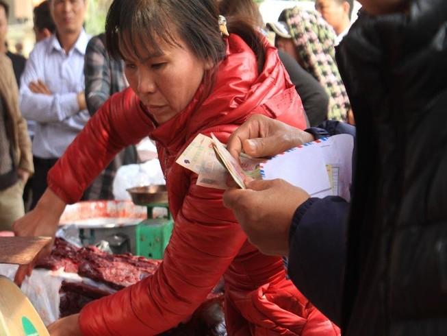 Giá thịt trâu chọi đắt gấp 3 - 4 lần thịt trâu thường