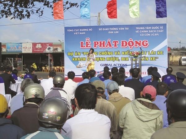 Diageo và UNITAR cam kết hành động vì an toàn đường bộ