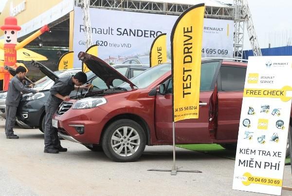 Renault tổ chức lái thử xe tại Vũng Tàu và Thái Nguyên